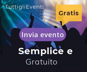 Pubblica gratis eventi