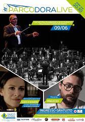 Giorgio bolognese e l'orchestra bosconerese a parco dora live