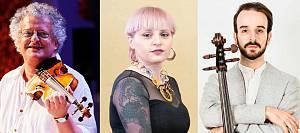 Irvine arditti, violinista, leggenda vivente della musica contemporanea mondiale in trio