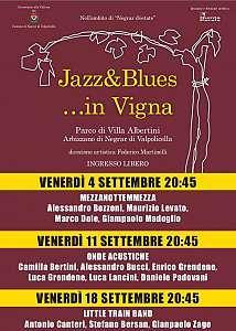 Jazz&blues.. in vigna
