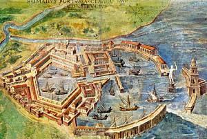I grandiosi porti imperiali di claudio e traiano