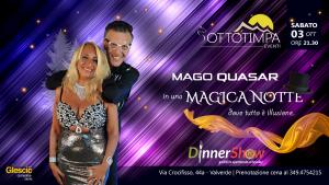 Magica notte con il mago 𝐐𝐔𝐀𝐒𝐀
