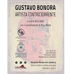 gustavo bonora. artista controϽorrente solo exhibit online preview