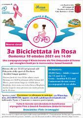 3a biciclettata in rosa