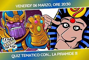Comix movie question challenge quiz tematico - master pharaon
