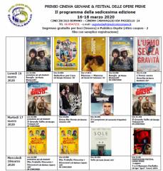 Premio cinema giovane e festival delle opere prime