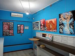 Arte in tabaccheria: marina zaiteva