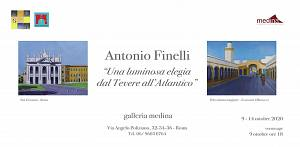 Antonio finelli � una luminosa elegia dal tevere all'atlantico