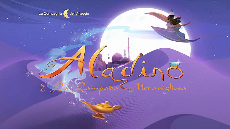 Aladino e la lampada meravigliosa – il musical –