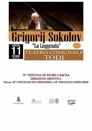 Grigorij sokolov in recital!