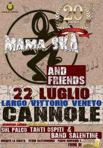 Mama ska & friends - concerto/festa per i 20 anni della band
