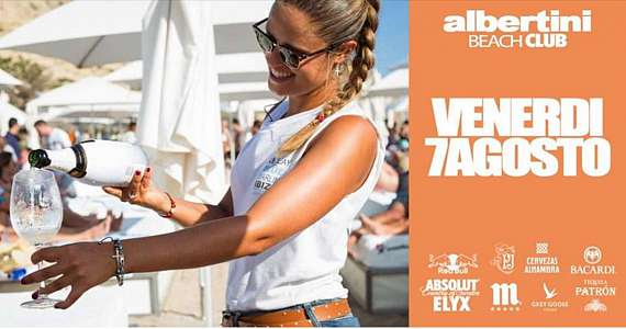 Venerdi' 7 agosto albertini beach club il party anni 90 vol3