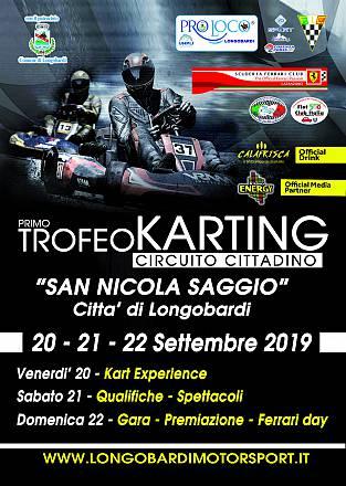 1° trofeo karting circuito cittadino  san nicola saggio - citta' di longobardi 20-21-22 settembre 2019