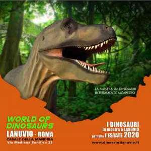 World of dinosaurs - tornano i dinosauri vicino roma a lanuvio e ci rimarranno per tutta l