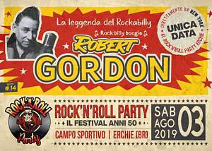 Sabato 3 agosto erchie rock'n'roll party 2019