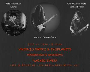 Vincenzo grieco & explanets live @ route 66 american bistrot