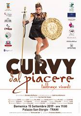 Curvy dal piacere tableaux vivants