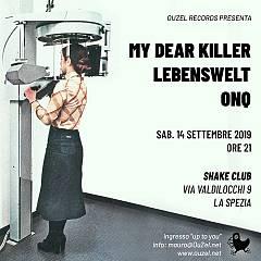 Onq, my dear killer e lebenswelt per la sesta edizione delle ouzeliadi allo shake