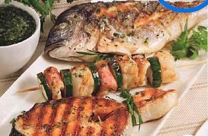 Grigliata di pesce gratis