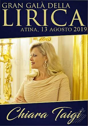 Chiara taigi – la regina dell'opera - gran gala lirico 2019 - atina