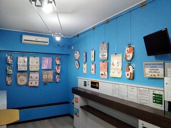 Arte in tabaccheria: adriana golinelli