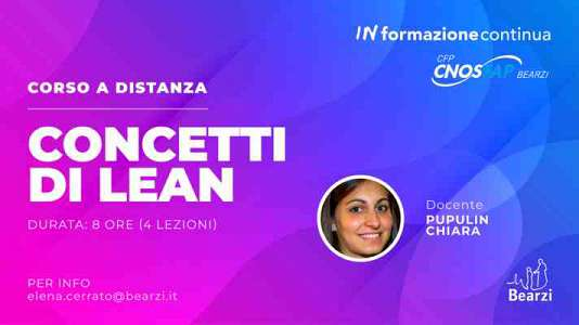 Percorso sul  lean thinking
