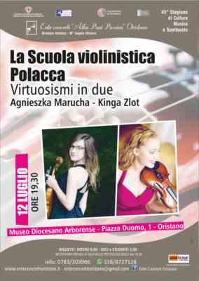 La scuola violinistica polacca: virtuosisimi in due