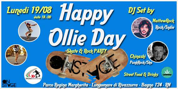 Happy ollie day - skate & rock party