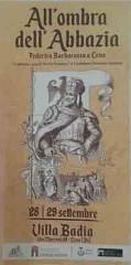 All'ombra dell'abbazia - federico barbarossa a leno