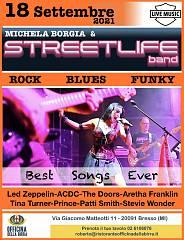 La storia del rock michela borgia & streetlife band