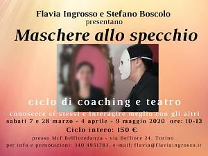 Maschere allo specchio: coaching e teatro