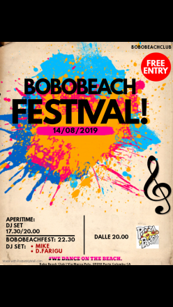 Bobobeachfestival! 14/08