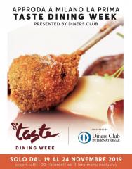 A milano la prima edizione della taste dining week: ristoranti top per far vivere momenti