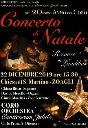 """Concerto di natale """"resonet in laudibus"""