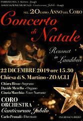 Concerto di natale  resonet in laudibus