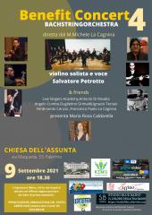 Benefit  concert4 :petrotto canta liza minnelli e suona thaycvosky