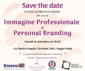 Evento di presentazione corso di immagine professionale e personal branding