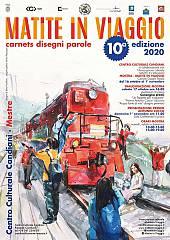 Mostra collettiva di acquerello e disegno matite in viaggio 2020. venezia