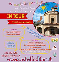 Un castello per le fiabe in tour