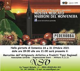 Mercatino della 47^ mostra mercato marroni del monfenera