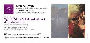 Sigfrido oliva / carlo roselli - visioni di un altro mondo