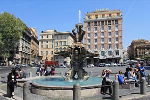 Roma citta scolpita nell' acqua e nella pietra