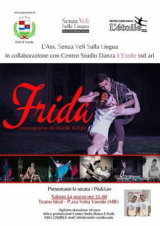 Frida - spettacolo di danza contro la violenza sulle donne