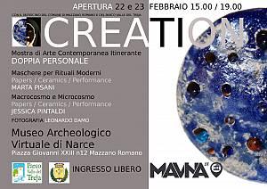 Creation mostra di arte contemporanea itinerante iii tappa al mavna