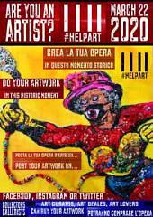 #helpart l'iniziativa degli artisti per l'arte ai tempi del coronavirus