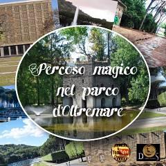Percorso magico nel parco d' oltremare: itinerario tra edifici misterici e laghi incantati