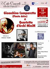 Gioacchino comparetto (flauto dolce) quartetto d'archi minim