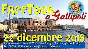 Free tour a gallipoli