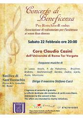 Concerto di beneficenza- coro claudio casini