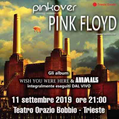 Pinkover live - teatro orazio bobbio